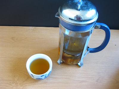 Homemade fruit tea