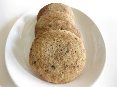 close-up photo of Cinnamon Cappuccino cookies