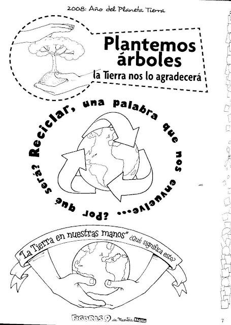 Plantar Arboles Dibujos Para Colorear