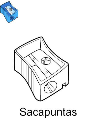 Utiles Escolares Dibujos Para Colorear De Clase