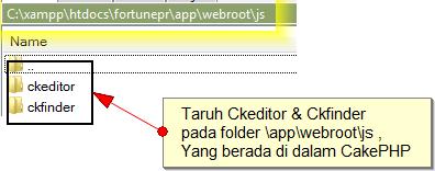 I'm Your IT Solution: Ckeditor + Ckfinder Berintegrasi