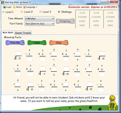 mad dog math screenshot 4