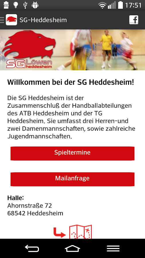 SG Heddesheim - Handball – Screenshot