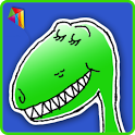 Silly Dinosaur Riddles icon