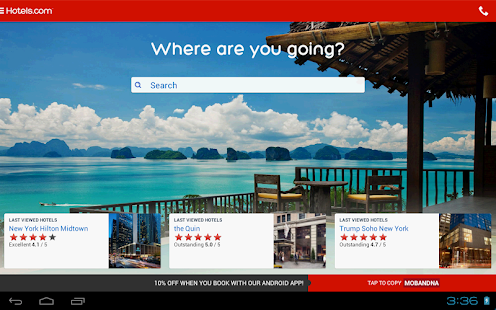 Hotels.com – Hotel Reservation - screenshot thumbnail