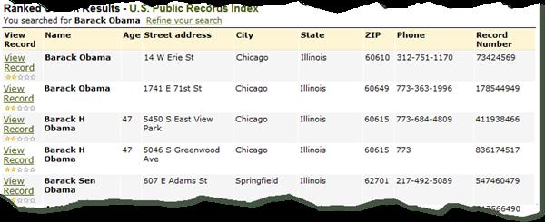 搜索结果来自美国公共纪录索引[1984-current]