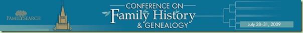 BYU 2009家族史和家谱会议
