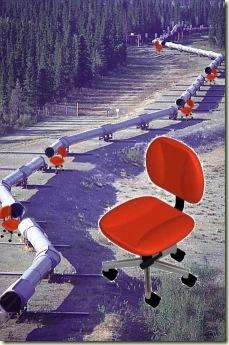 Fumanysearch.在管道建设期间使用旋转椅手动工艺
