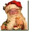 兰迪海运's Santa Photograph