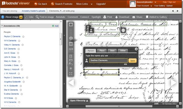 脚注支持标记名称,地点,日期和其他文本