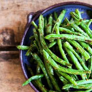 Roasted Ginger Sesame Green Beans.