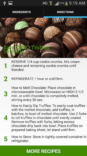 Easy OREO Truffles Recipes