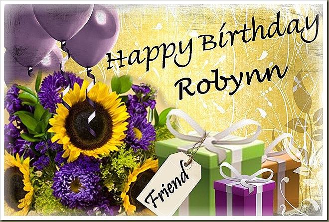 Happy Birthday Robynn Felder Cake