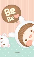 Screenshot of BeBe Lightly go locker theme
