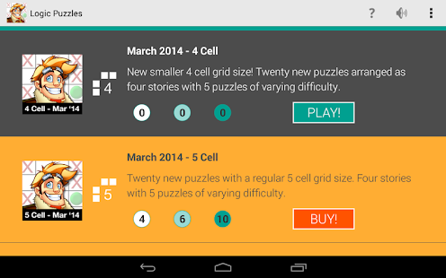 Logic Puzzles - Brain Fun - screenshot thumbnail