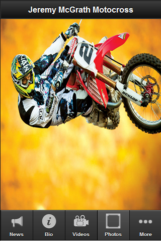 Jeremy McGrath Fan App