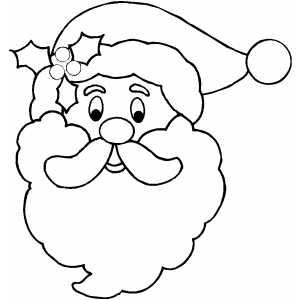 Dibujos Papa Noel Para Colorear
