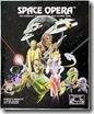 Cartel cutre de una Space Opera genérica