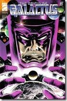 «Galactus», ser que habita en el cosmos desde antes de su creación en el «Big Bang», equivalente a lo que desde un punto de vista místico se le llamaría Dios y habitual en los cómics de supeheroes