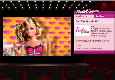 Barbie goes to cinema