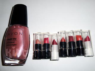 AVON Nail Enamel and Lipstick Samples