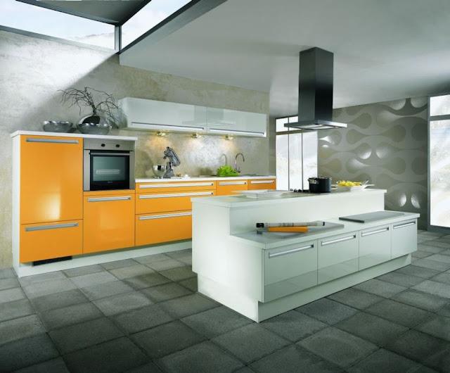alnolight einbauk che kochinsel k che musterk che insel weiss mango gl nzend ebay. Black Bedroom Furniture Sets. Home Design Ideas