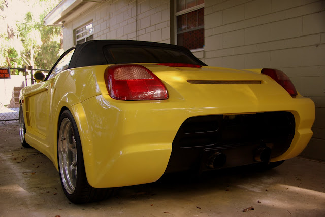I Just Bought One With Genuine Veilside Widebody Hood The Rare And Stupidly Expensive Stainless Dual Exhaust