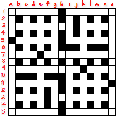 How To Create Crossword Grid Step12
