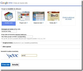 google-sites-crea-sito