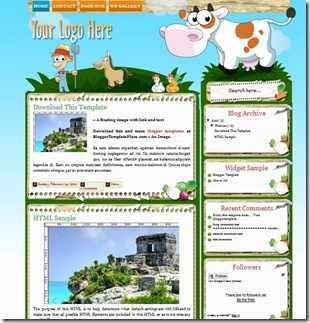 farmville-blogger-template