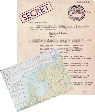 mapas de evasión