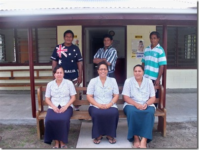 photo of the staff TDB office in Niuatoputapu
