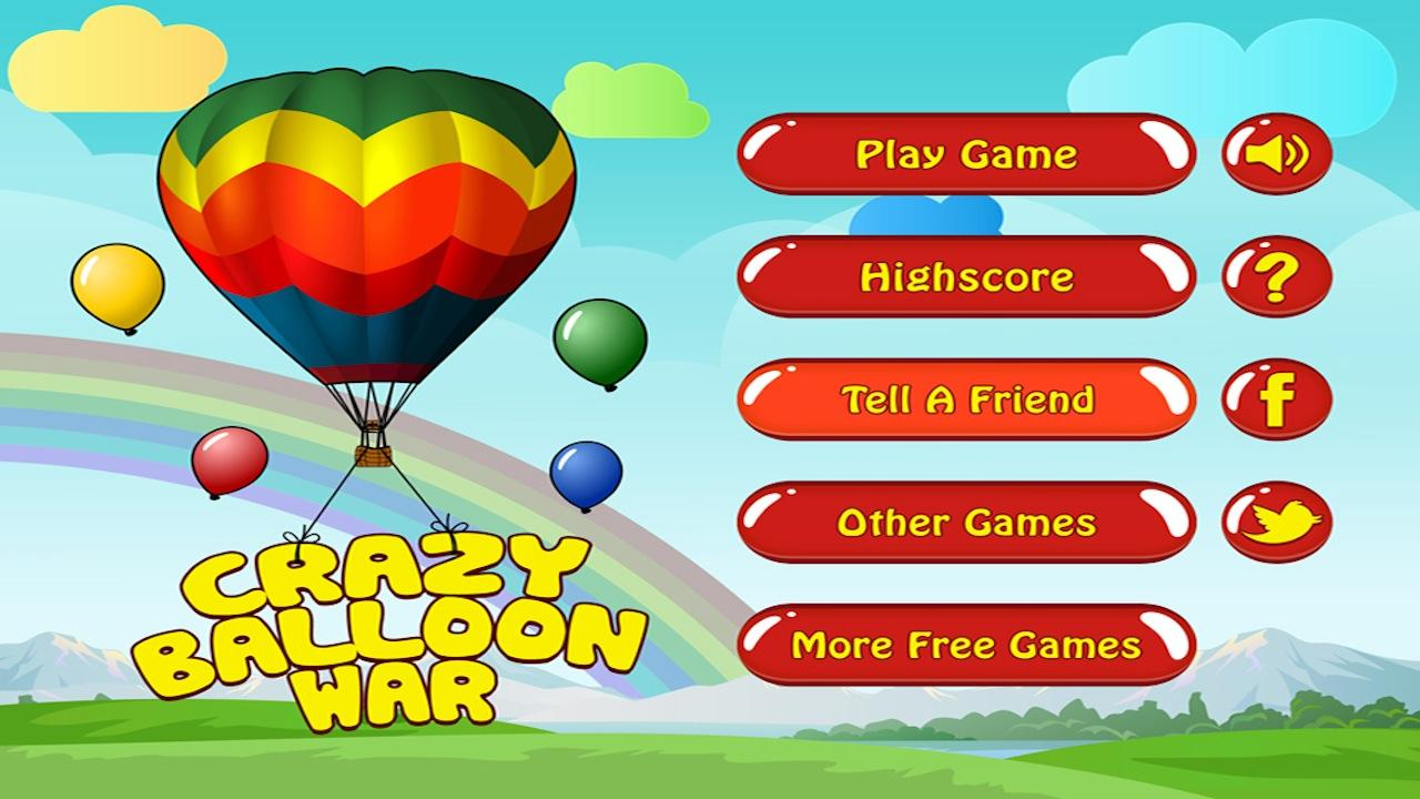 Crazy Balloon War- screenshot