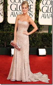 7.Carrie Underwood de Badgley Mischka