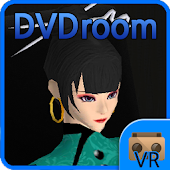VR DVDroom, for Cardboard