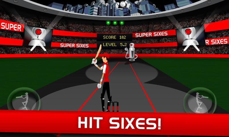 Stick Cricket Super Sixes screenshot #2
