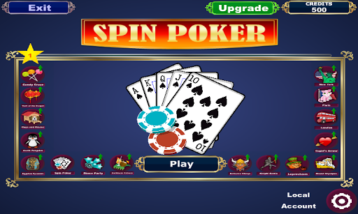 Spin Poker Slots