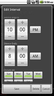 Silence Scheduler - screenshot thumbnail