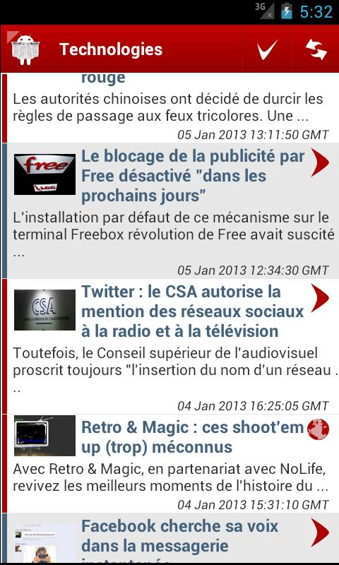 LeMonde.fr (non officiel) - screenshot