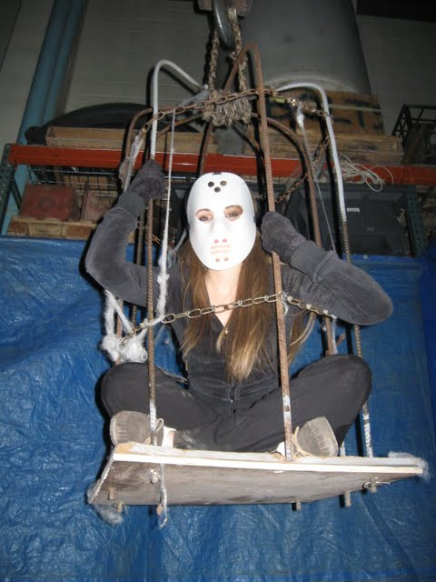 Haunt Your House How To Make Your Own Hanging Torture Cage