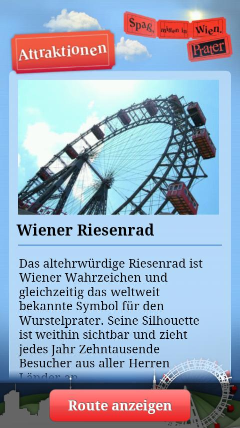 Vienna Prater – The Original - screenshot