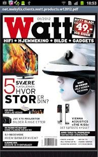 Watt Magazine - screenshot thumbnail