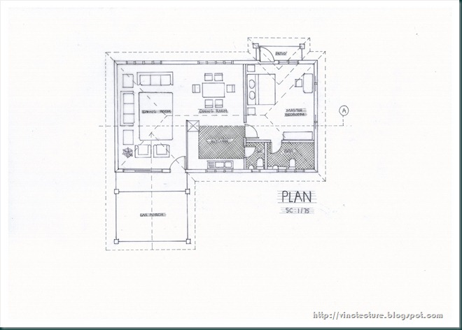 Vinct Architecture Redraw a site plan by converting the scale – How To Draw Site Plan