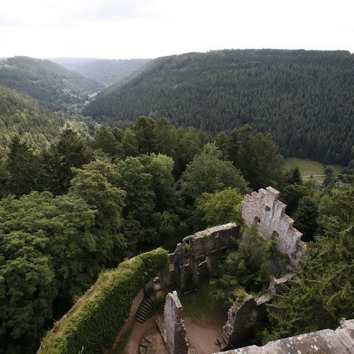 Burgruine Zavelstein im Schwarzwald