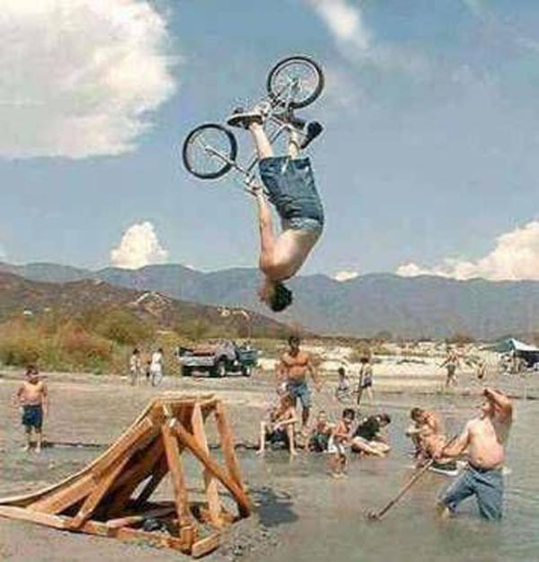 15 reasons why boys need strict parents - Crazy BMX action