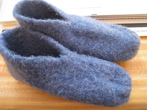 How To Make Knit Slippers