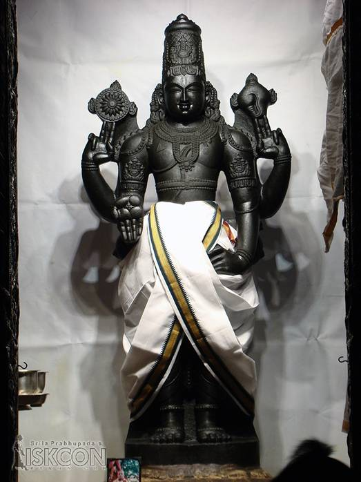 Lord Balaji Wearing Just A Dhoti