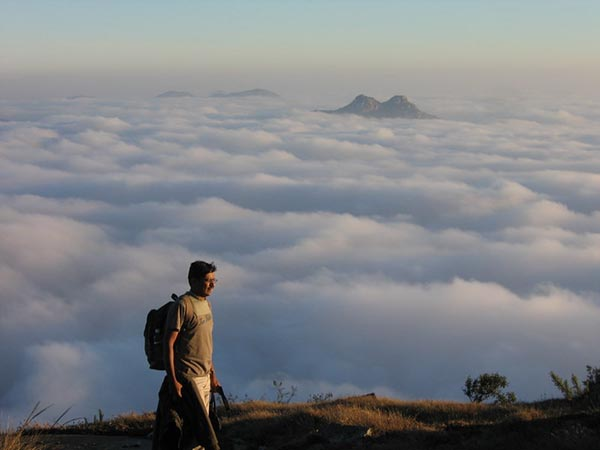 Kalavaarahalli betta [skanda giri] - Walking above the clouds
