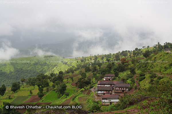 Majestic beauty of monsoon on way to Kas plateau