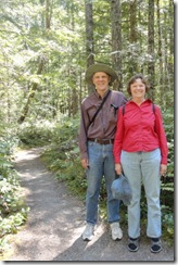 DSC07643 Pete and Sue on trail